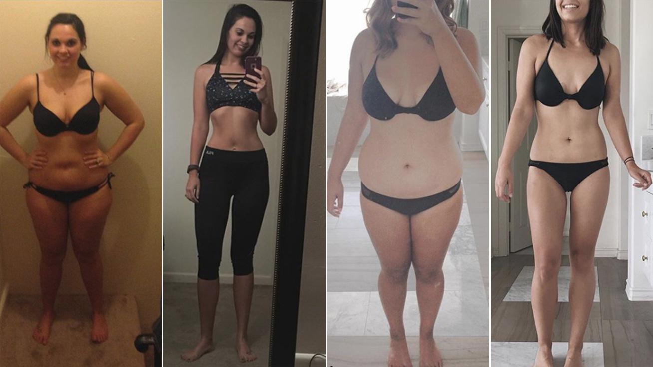 20 kg fogyás előtt és után