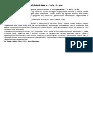 Az epeiszedés diagnózisának és kezelésének alapelvei - Sárgaság