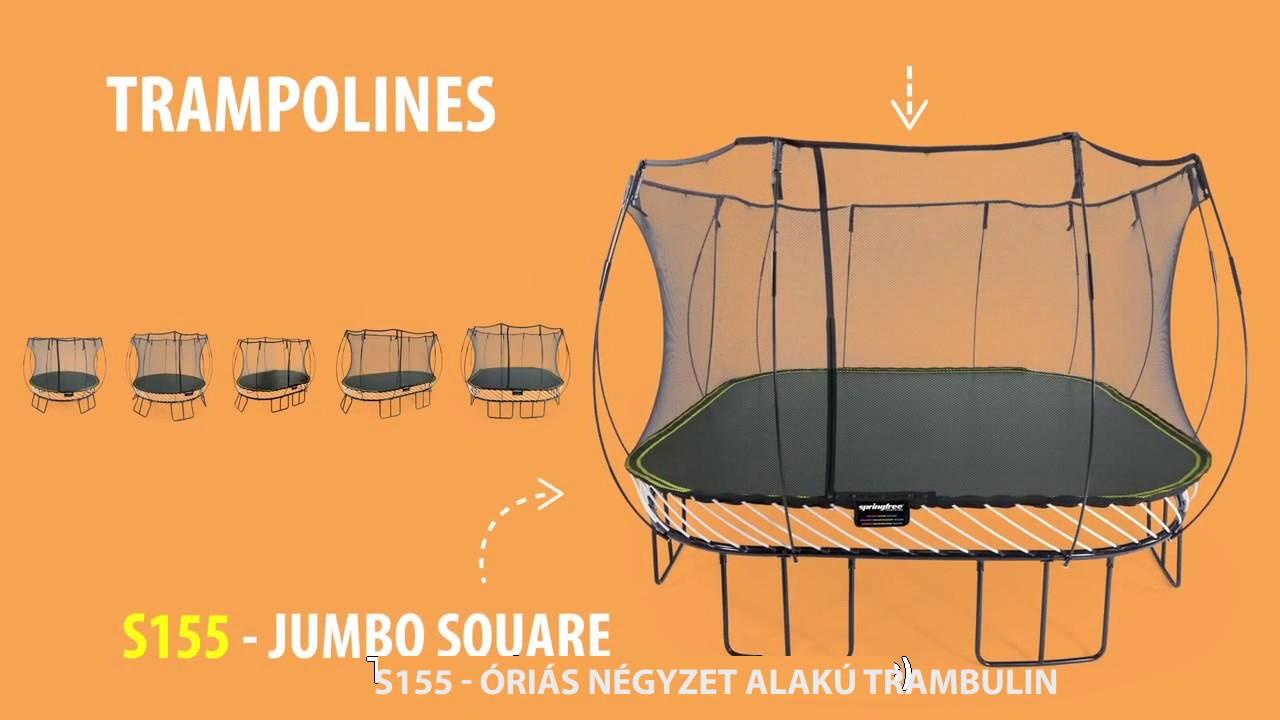 hogyan lehet fogyni a trambulin