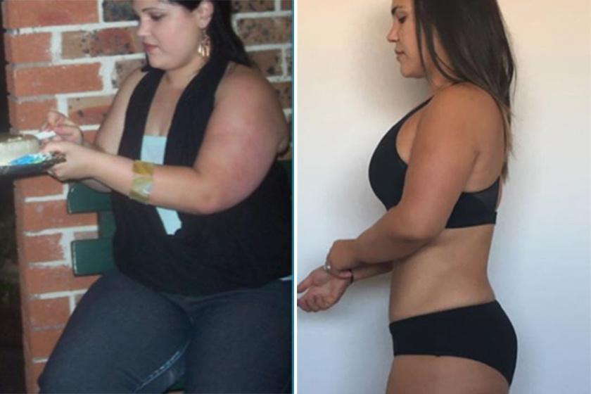 50 kg fogyás előtt és után