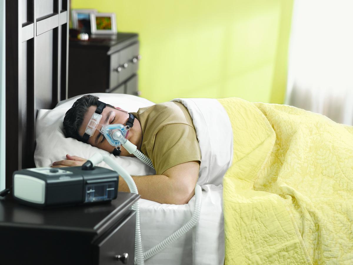 CPAP légsínterápiás gép