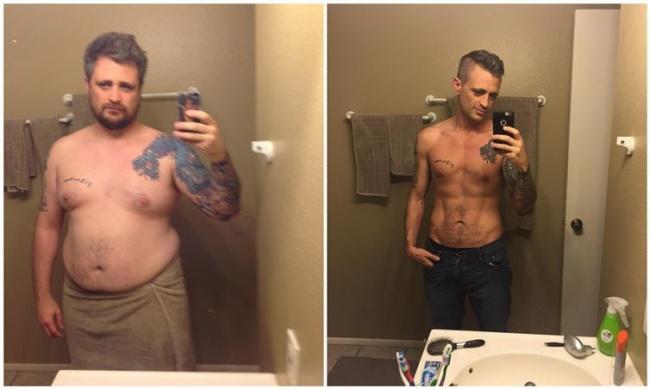 f45 fogyás előtt és után