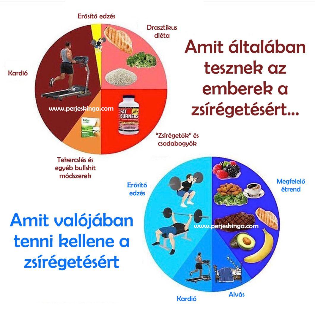 női zsírvesztési terv fogyás rendelés étkezés