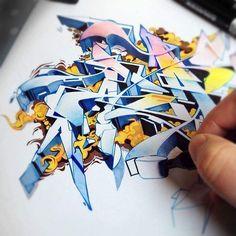 fogyás graffiti)