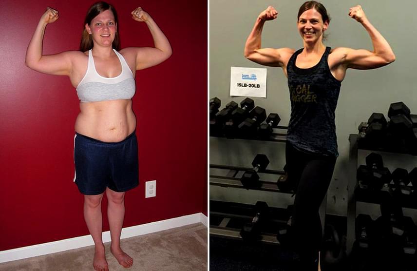 súlycsökkenés 15 kg előtt és után