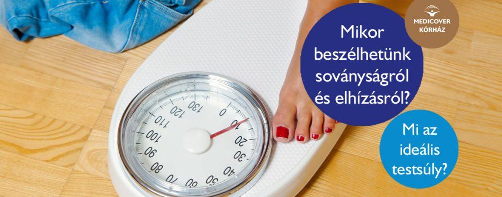 testsúly elhízás