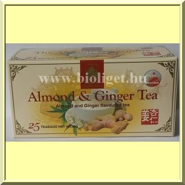 a mandulafogyasztó teáról