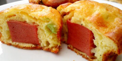 Gyors sós muffin recept