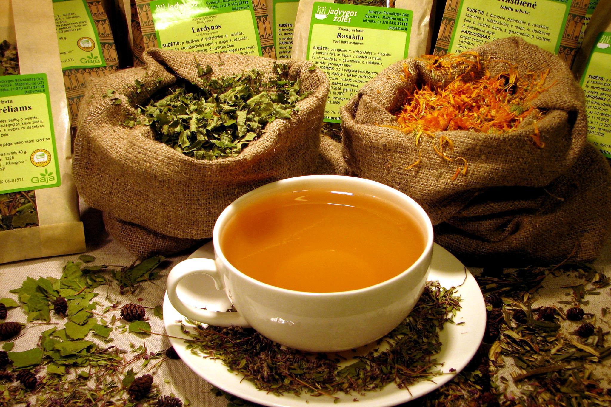 zsírégető gyógynövény tea
