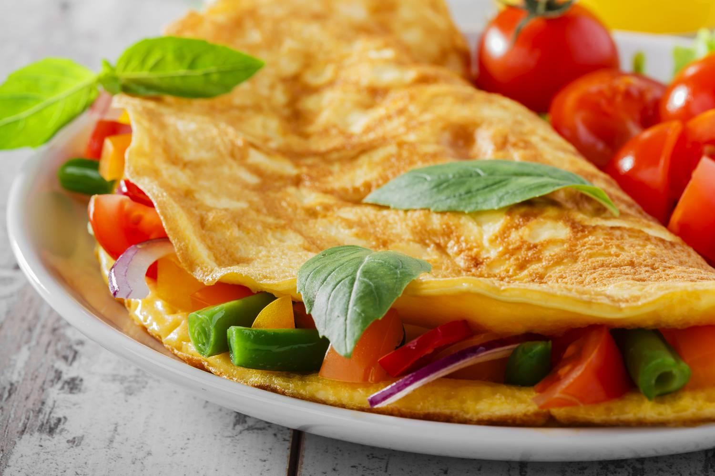 egészséges omlett fogyás)
