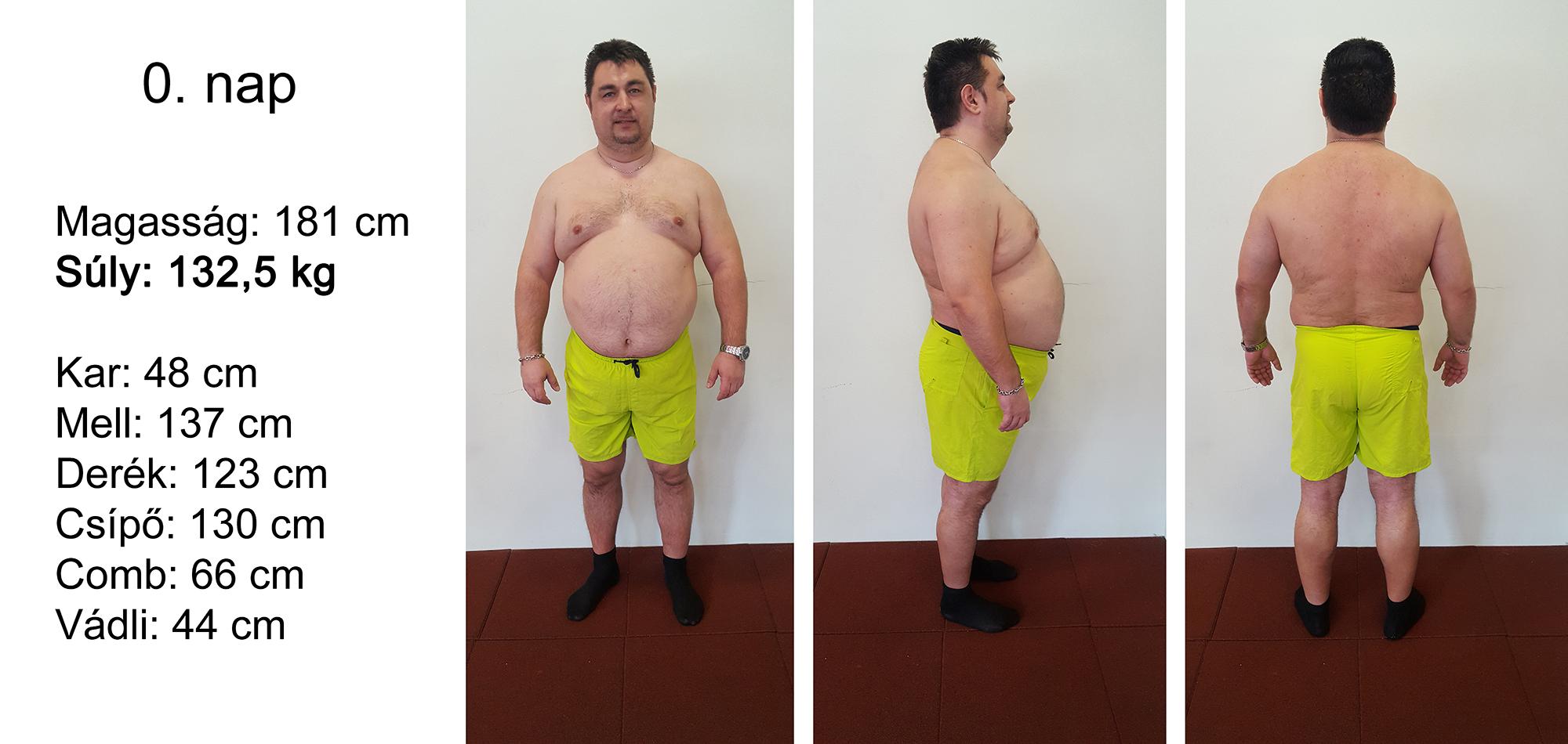 1 hónap alatt 10 kiló mínusz