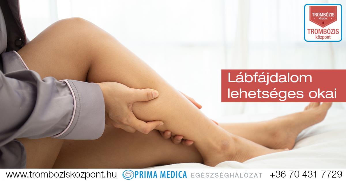 lábfájdalmak és fogyás